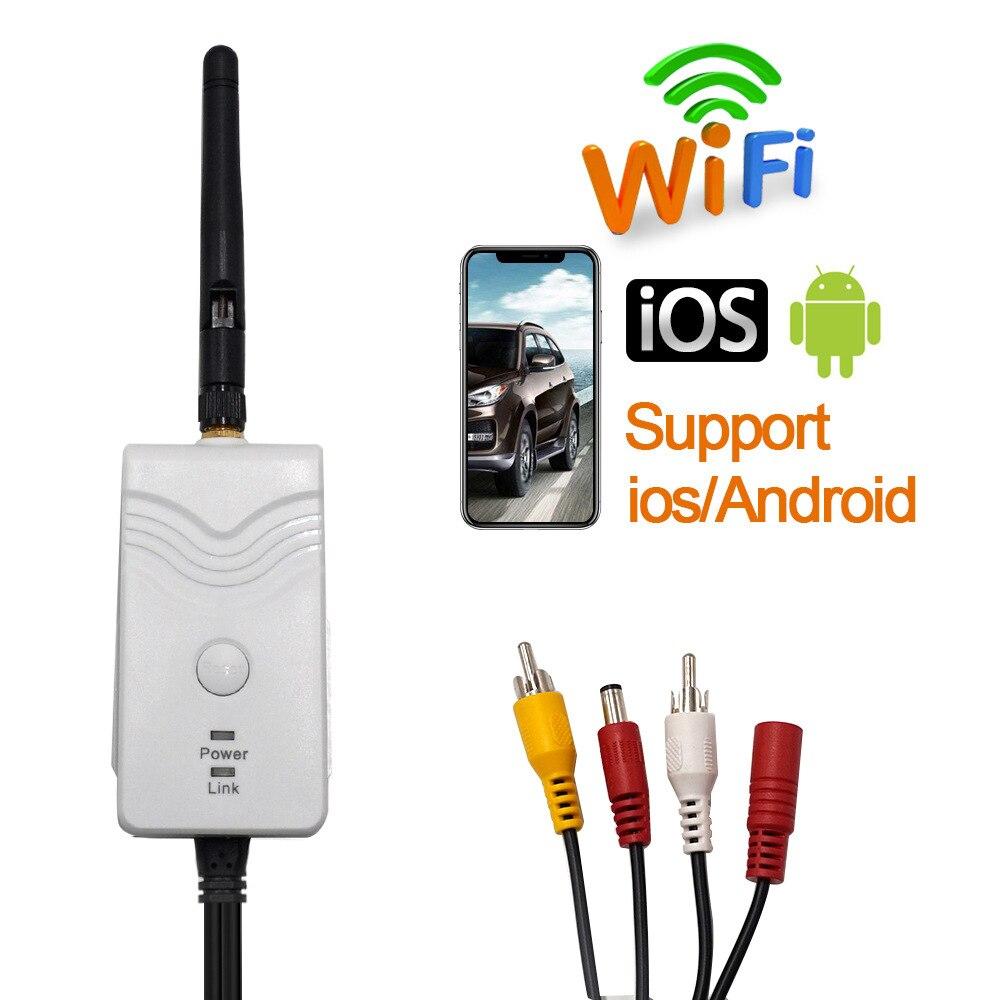 Новое поступление! Ретранслятор сигнала передатчика WiFi для беспроводной камеры заднего вида для iPhone IOS и Android 903S