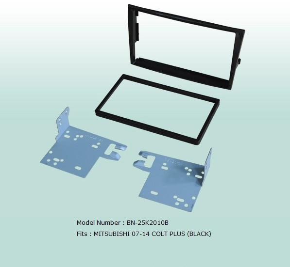 Car Fascias Stereo Audio Panel Navigation Frame Dash Kit For Mitsubishi Colt Plus 2007 2008 2009 2010 2011 2012 2013 2014