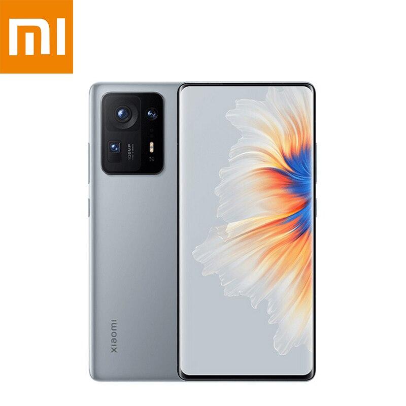 Chinese Version Xiaomi Mi Mix 4 5G NFC Smartphone 12GB+256GB Snapdragon 888+ Octa Core 108MP Camera 5000mAh Battery Mobile Phone