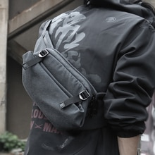 FYUZE Simple Shoulder bag Men waterproof Fashion sling Travel Bag Crossbody Messenger Portable Bags