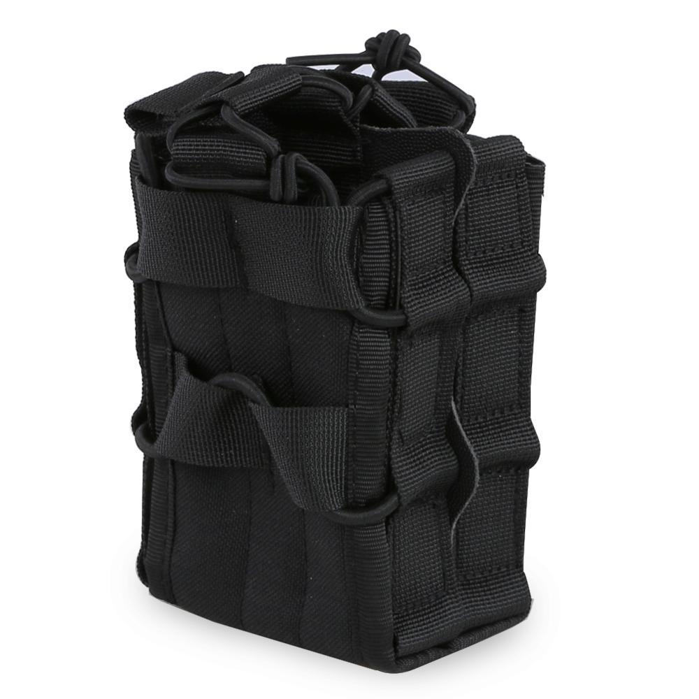 Снаряжение для выживания тактический Чехол для журнала Molle высокоскоростное снаряжение пистолет Молл двойной маг Сумка для охоты аксессуа...