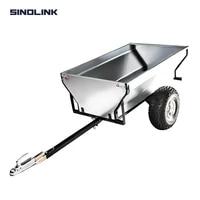 sinolink tb500 500kg capacity loading atv small trailer home garden farm using atv towed galvanized sheet 2 tires