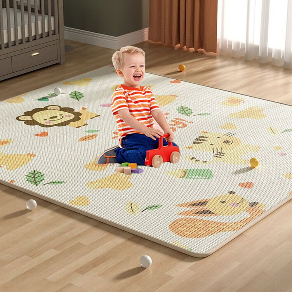 baby developing mat for newborn non toxic soft xpe foam baby climbing pad foldable activity gym for children playground kids rug Thicken Non-toxic XPE Baby Play Mat Toys for Children Rug Playmat Developing Mat Baby Room Crawling Pad Folding Mat Baby Carpet