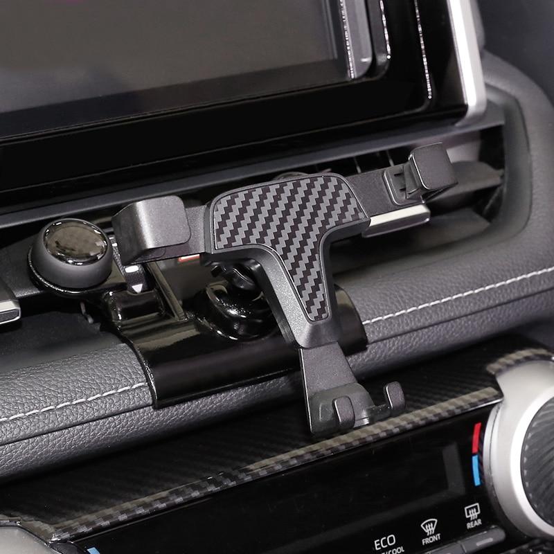 Soporte de teléfono para Toyota RAV4 RAV 4 XA50 2019 2020, montaje en salida de aire de coche, soporte estable para teléfono móvil, soporte para teléfono inteligente