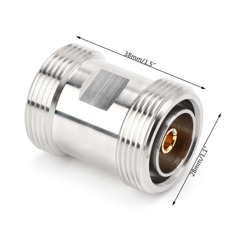 L29KK RF koncentryczny Adapter wysokiej częstotliwości 7/16 Din żeńskie na Din żeńskie złącze Y98E