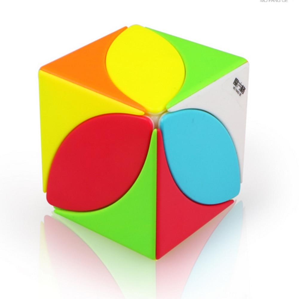 IQ-Cubes QiYi MoFangGe FengYe Ivy Cube High Speed Cube Puzzle Magic Professional Learning&Educational Cubos magicos Kid Toys