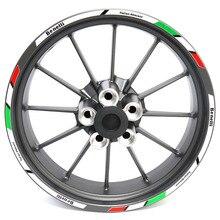 Moto décalcomanies roue autocollants réfléchissants rayures pour Benelli 502c 752s Leoncino 500 250 LeoncinoX TRK 521