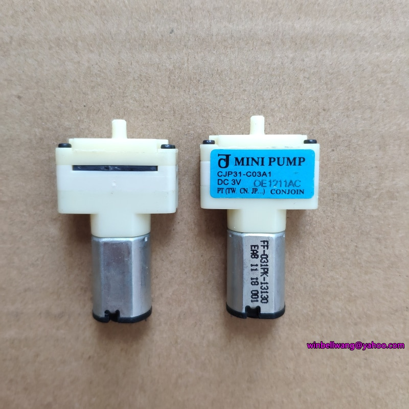 Brand new DC3V mciro ciśnienie powietrza pompa CJP31-C03A1 pompa tlenu sphygmomanometer pompa KPM14A mini pompa ~