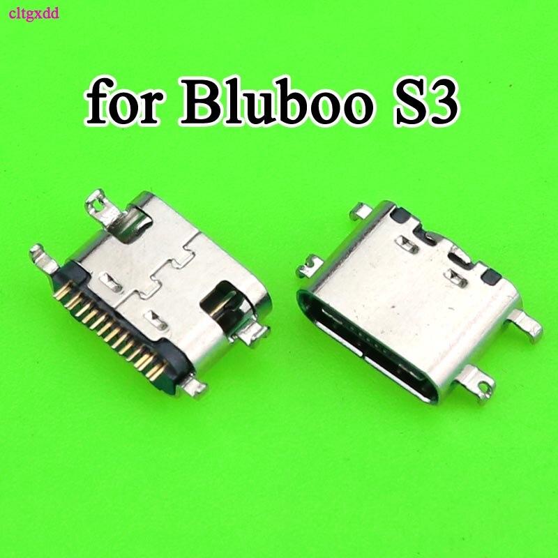 2 pçs carregador usb carregamento de carga doct porto conector para bluboo s3 s8plus s8 plus s8 + oukitel wp5000 k6 ulefone armadura 3 t plug