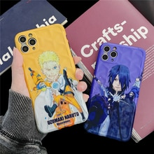 New Naruto Anime Sasuke Uzumaki Phone Case for iPhone 11 Pro X XR XS MAX 7 8 Plus Japan Cartoon Funny Soft Silicon Cover Coque