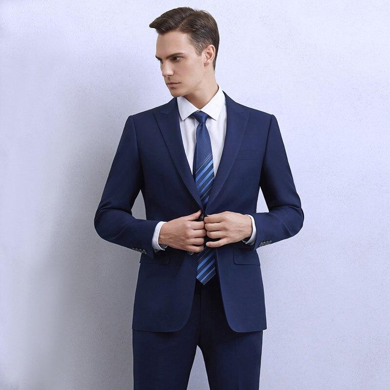 جديد وصول (سترة + السراويل) الفاخرة الرجال دعوى 2 قطعة مجموعة الأزياء بوتيك العريس فستان الزفاف الرجال سهرة الرجال مأدبة نادي اللباس