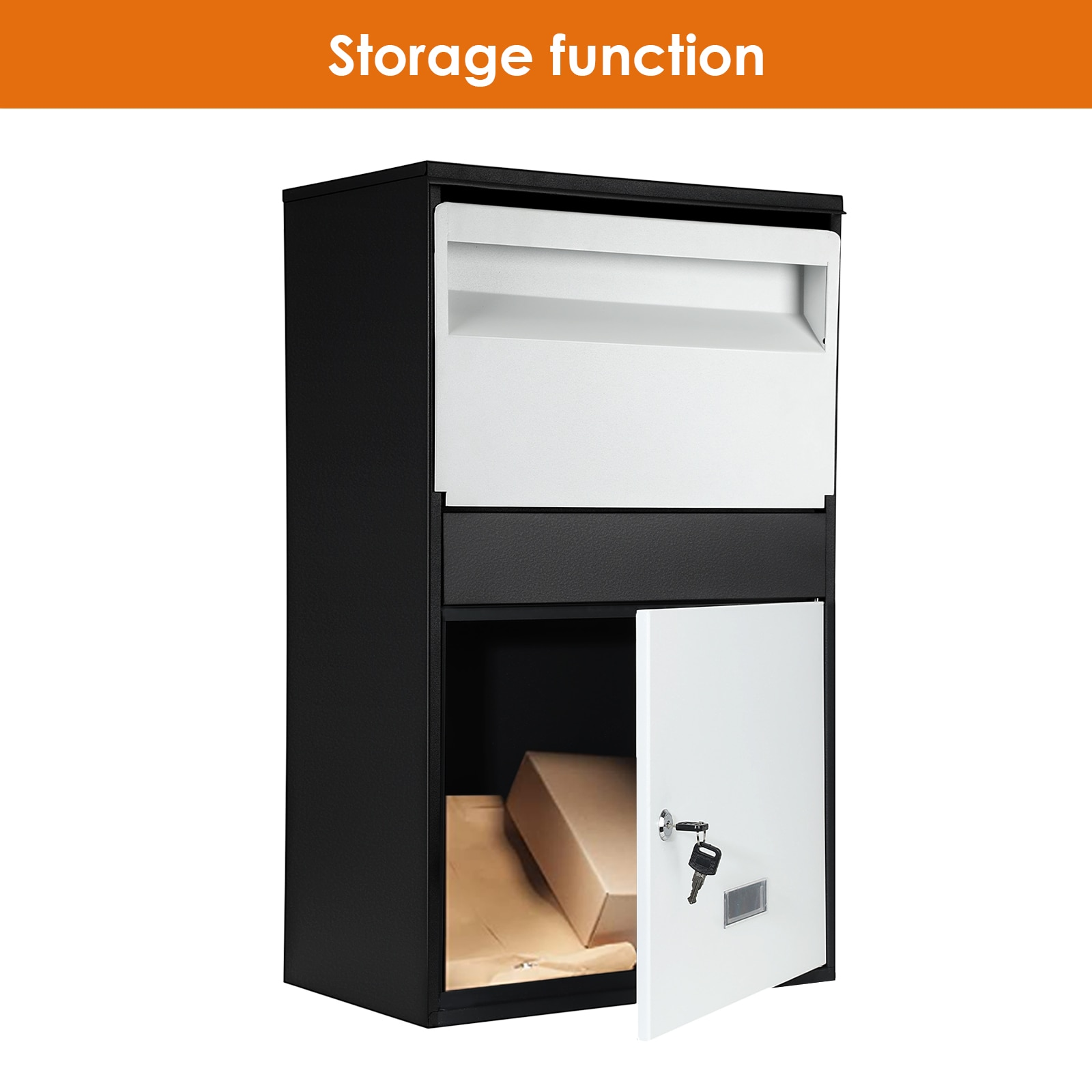 Family Express Cabinet Private Household Anti-theft Parcel Box Outdoor Storage Locker Large Wall-mounted Delivery Box enlarge