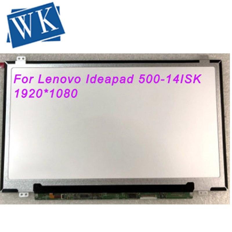 "Pantalla IPS para Lenovo Ideapad 500-14ISK 500 14ISK ordenador portátil LCD pantalla matriz para ordenador portátil 14,0 ""FHD 1920x1080"