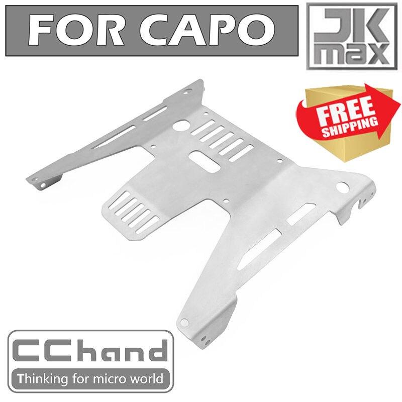 Radio control RC CAPO JKMAX metal chasis protector protección armadura opción piezas de mejora