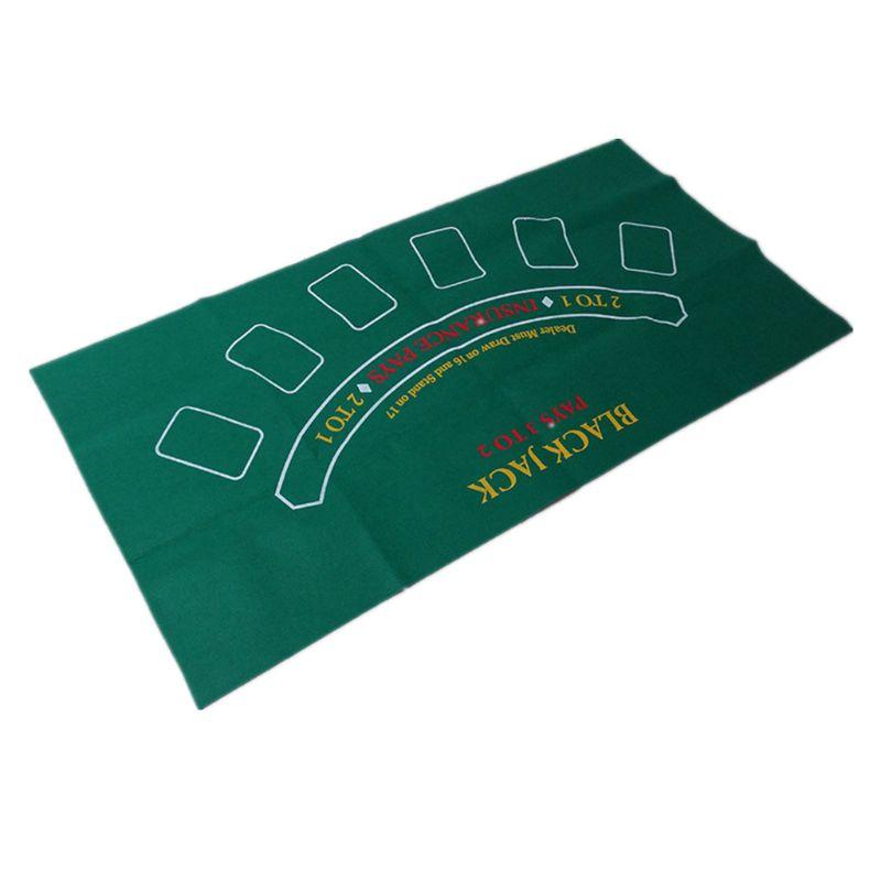 Двухсторонняя скатерть для игры русская рулетка и блэкджек игровой стол коврик K1KD-4