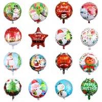christmas foil balloons santa claus christmas tree balloons decorations for home navidad xmas globos new year party supplies