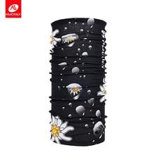 NUCKILY rowerowe chusty o wysokiej elastyczności szalik ochrony przeciwsłonecznej kolarstwo szyi odkryty szalik sportowy dla kobiet PG37