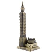 MagiDeal-ornement de bureau Bronze Taipei   101, modèle darchitecture de construction de tours, Taiwan, Souvenir de voyage, cadeau idéal