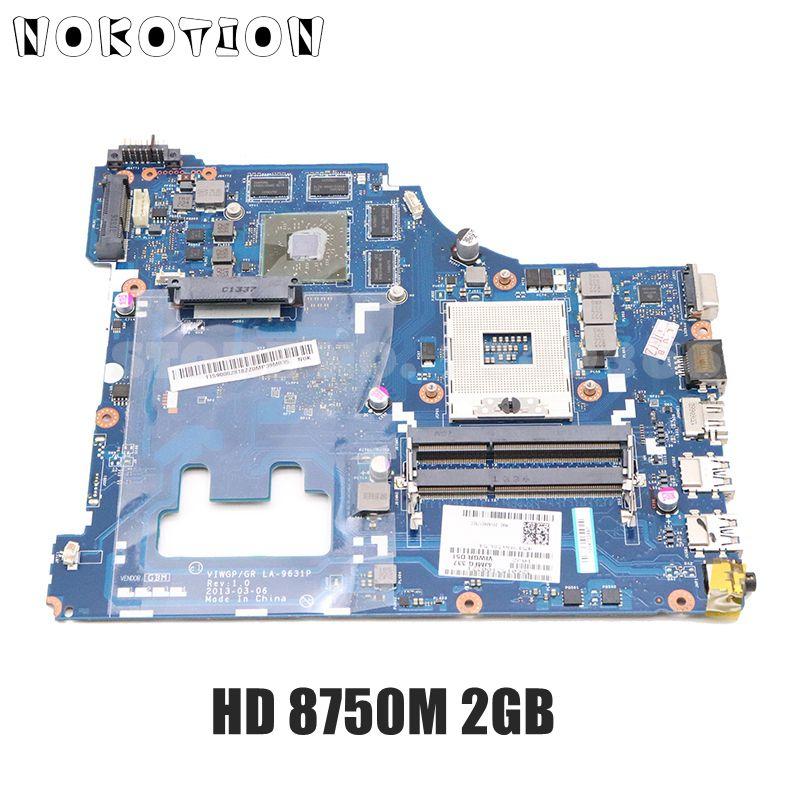 NOKOTION VIWGP GR LA-9631P لينوفو ideapad G500 15.6 بوصة اللوحة المحمول HM76 DDR3 راديون HD 8750M 2G