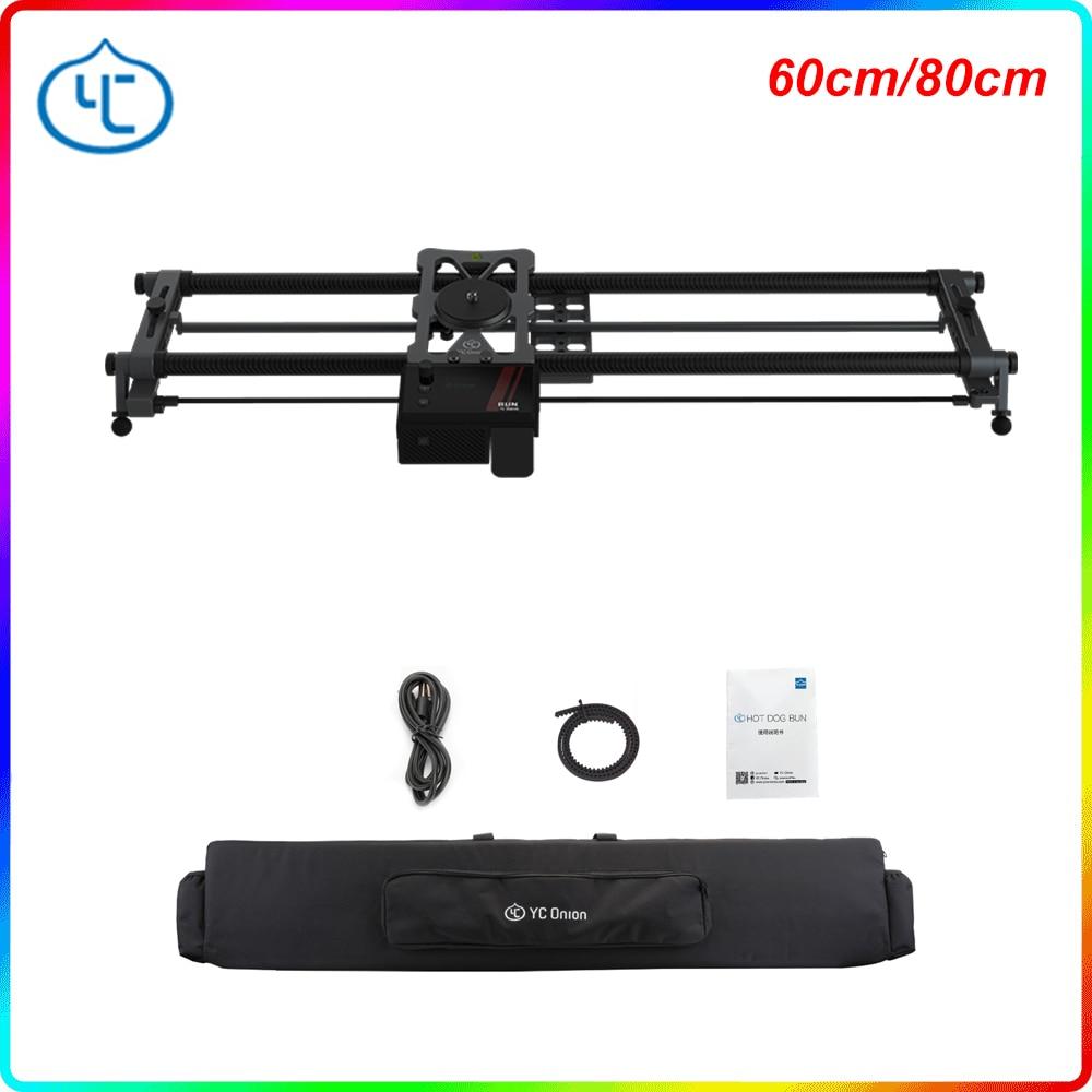 YC بصل-منزلق كاميرا من الجيل 3.0 مع تحكم آلي في التطبيق ، سبيكة ألومنيوم ، محرك صامت للغاية ، 3-4 أو 5 محاور ، شريحة فيديو