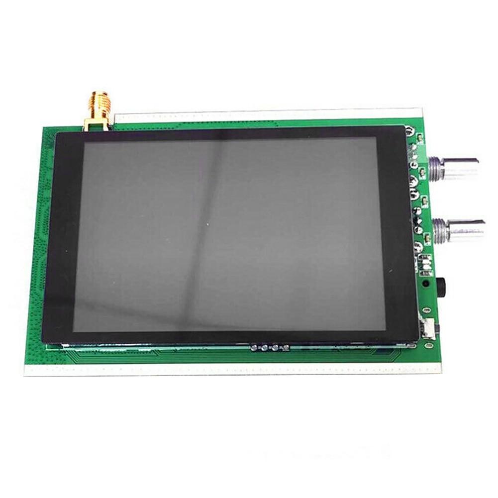 50k-200mhz backlight controle uhf acessórios display lcd modo completo malaquite receptor rádio presunto 3.5 Polegada dsp durável sdr agc