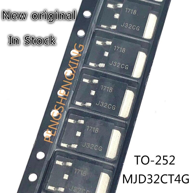 10PCS/LOT  MJD32CT4G MJD32C J32CG TO252  New original spot hot sale