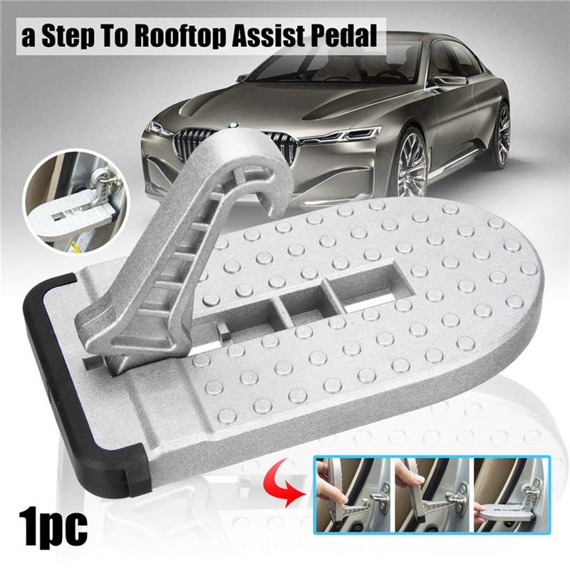 Складная Автомобильная дверь, вспомогательная педаль, Универсальная автомобильная лестница для багажа на крыше, подножки с крючком, поднож...