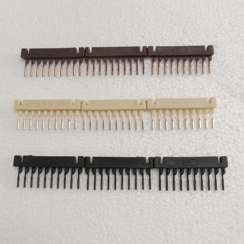 6D Hair Extension Comb 6D Hair Extension Buckle 40pcs/lot 6D Hair Extensions device Black Brown Beige Color