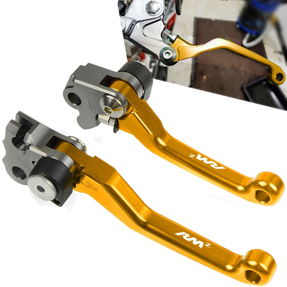Pour SUZUKI RMZ250 RMZ450 RMZ 250 450 2007-2016 2015 2014 2013 Dirt Bike Moto Pivot Levier Pliant poignée Levier Dembrayage De Frein