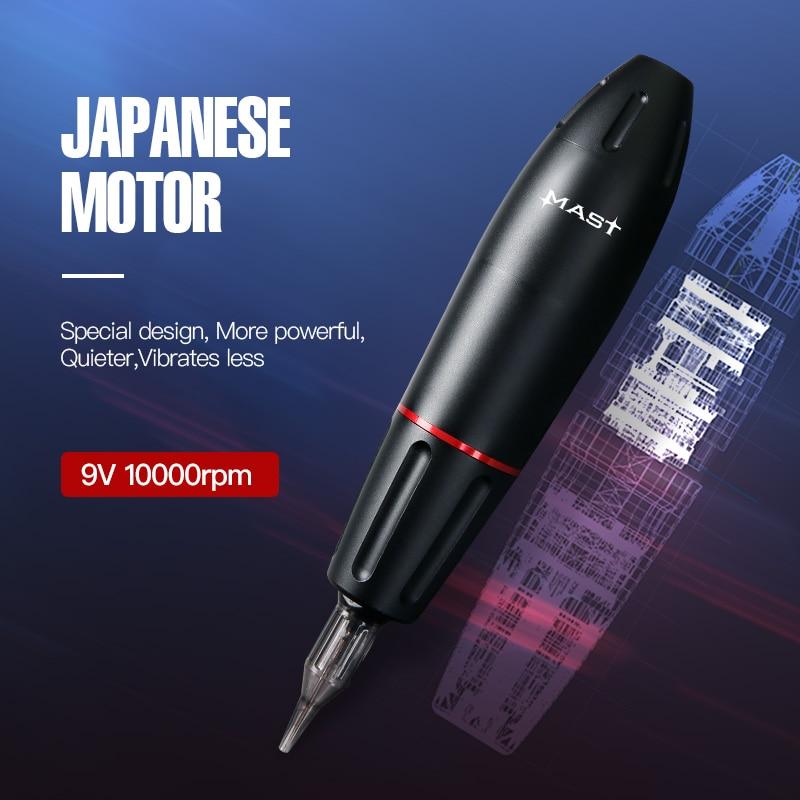 Tattoo Kit Professional Tattoo Rotary Pen Machine Set Permanent Makeup Cartridge Needle Tattoo Body Art enlarge