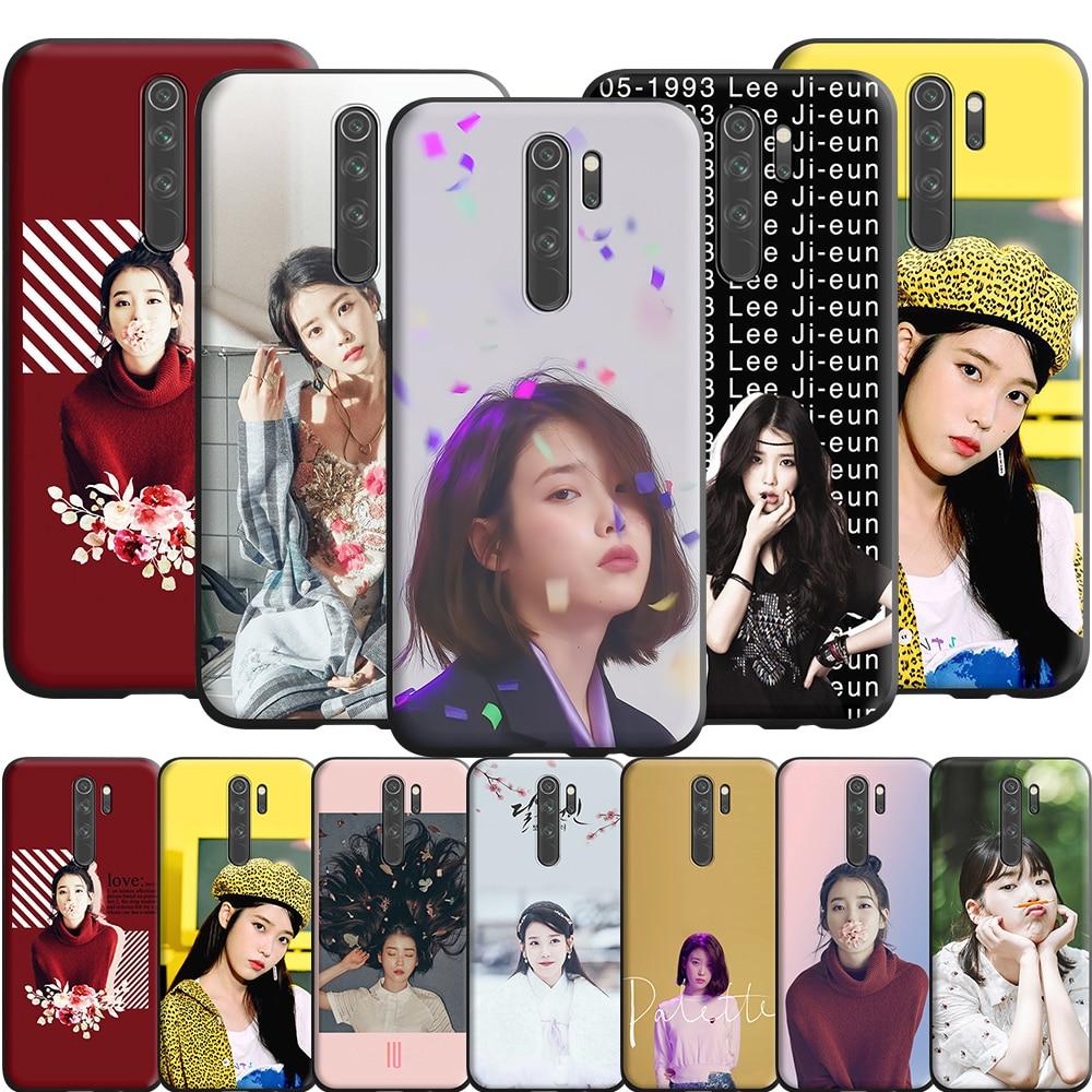 Ui Lee Ji eun funda de silicona para Xiaomi Redmi Nota 9 9 Max 5 5 5 6 6 7 7A 8 8A 8T S2 ir K20 K30 Pro X2