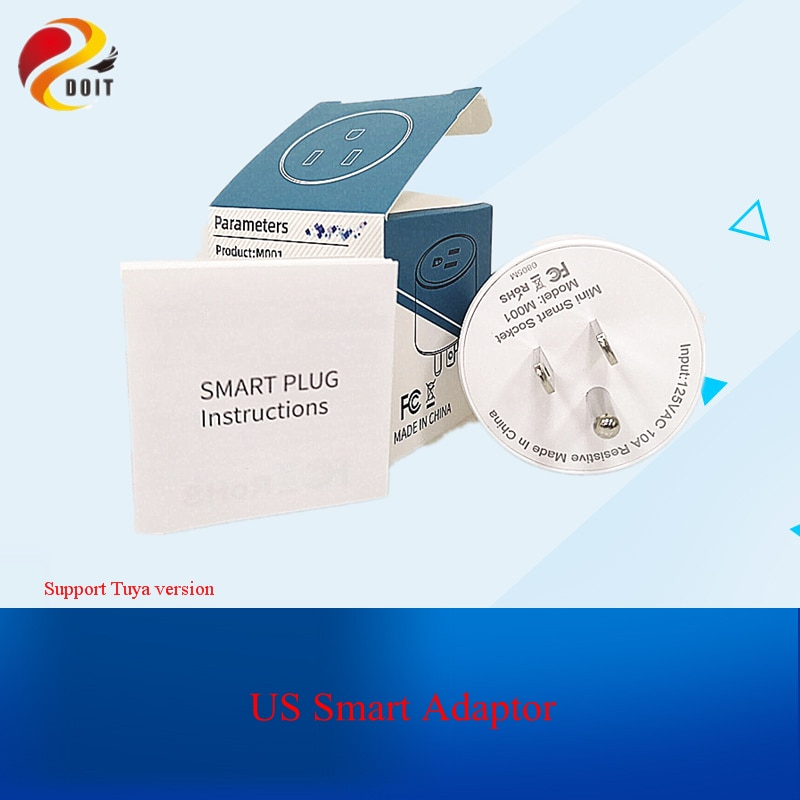 US WiFi Plug Smart for Tuya Timing Socket Power Outlet Adapter Voice Control Switch Work with Alexa Google