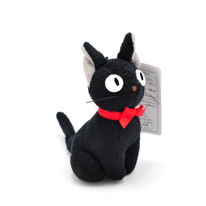Studio ghideli haiao Miyazaki servicio de entrega de Kiki juguete de peluche JiJi negro lindo Mini gato negro Kiki juguete de peluche llavero colgante