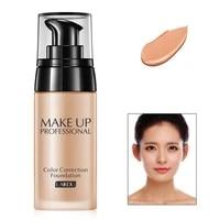 face foundation cream waterproof long lasting concealer liquid professional makeup matte base make up cosmetics maquiagem new