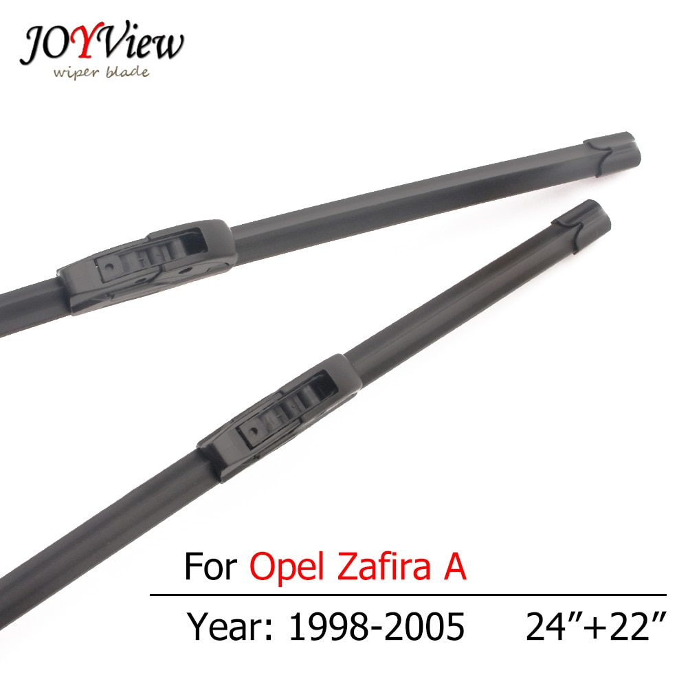 S410 frente del coche limpiaparabrisas para Opel Zafira un 1998, 1999, 2000, 2001, 2002, 2003, 2004, 2005, tipo gancho de limpiaparabrisas cuchillas 24 + 22 pulgadas