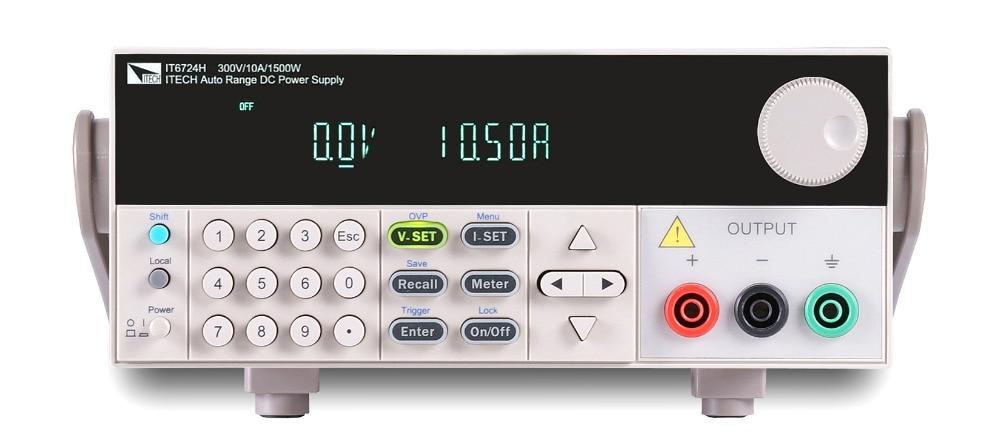 مزود طاقة تيار مستمر رقمي قابل للبرمجة عالي الدقة ، 80 فولت/20 أمبير/400 واط RS232/USB IT6722 مع GPIB ، IT6722A