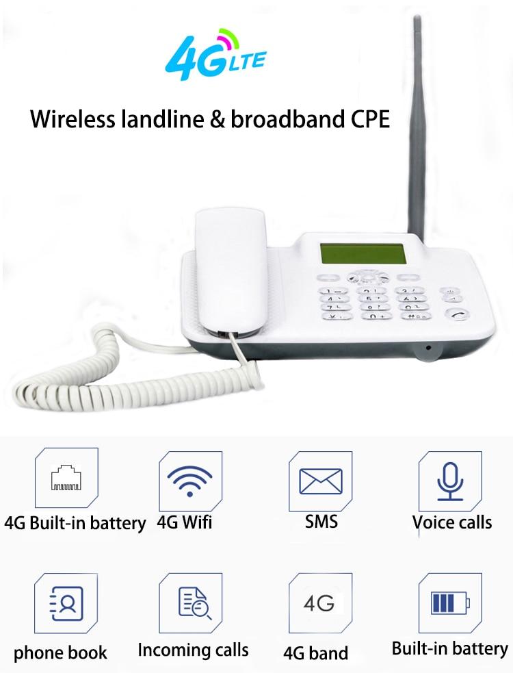 4G LTE/Wifi/Wireless Router CPE 3G Modem Mobile Voice Call Hotspot Broadband VoLTE Wifi Wireless Landline
