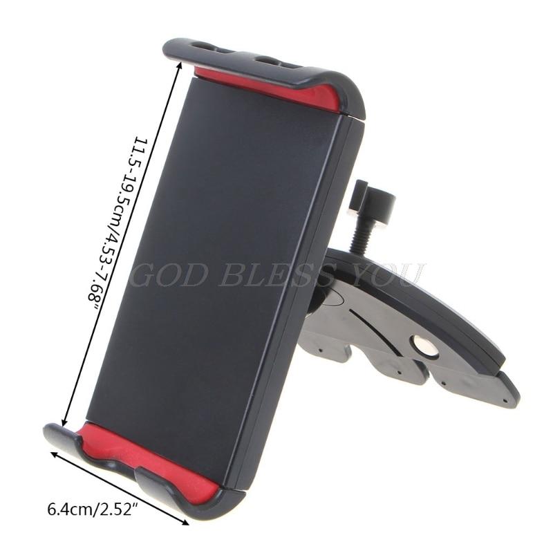 Soporte Universal para tableta y teléfono con ranura para CD de coche, soporte de montaje para iPad mini, envío directo