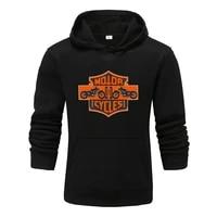 mens patchwork hooded sweatshirt hoodies clothing casual loose fleece warm streetwear male fashion autumn winter outwear