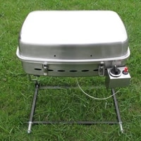 outdoor stainless steel bbq gas grill model no rrv 04a 12000btu suitable for boat rv recreational vehicle barbecue portable