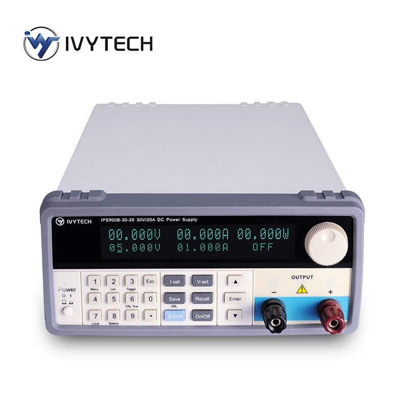 Banco de fuente de alimentación CC de conmutación programable IPS-900B serie 900W precisión 1mV/1mA 15V/60A 20V/45A 30V/30A 60V/15A