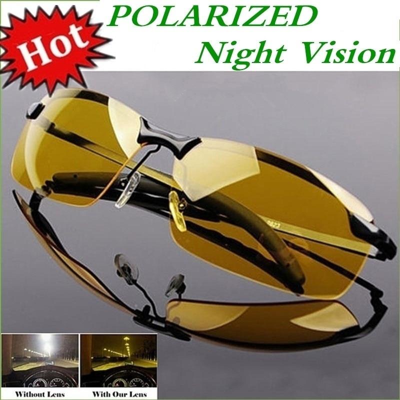 2020 Nachtsicht Gläser Photochrome Polarisierte Sonnenbrille Männer Outdoor-Sport Sonnenbrille Tag Nacht Vision Fahrer Brille
