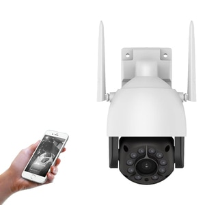 Dome Camera PTZ Control Rotate 1080P 2MP IP AP Auto Human Body Tracking Full Color Night Vision Spherical Gyrate H.265 V380 PRO