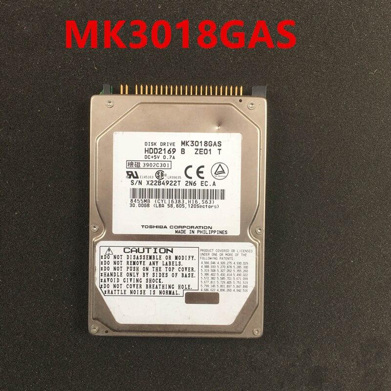 قرص صلب جديد أصلي 90% لـ Toshiba 30GB 2.5