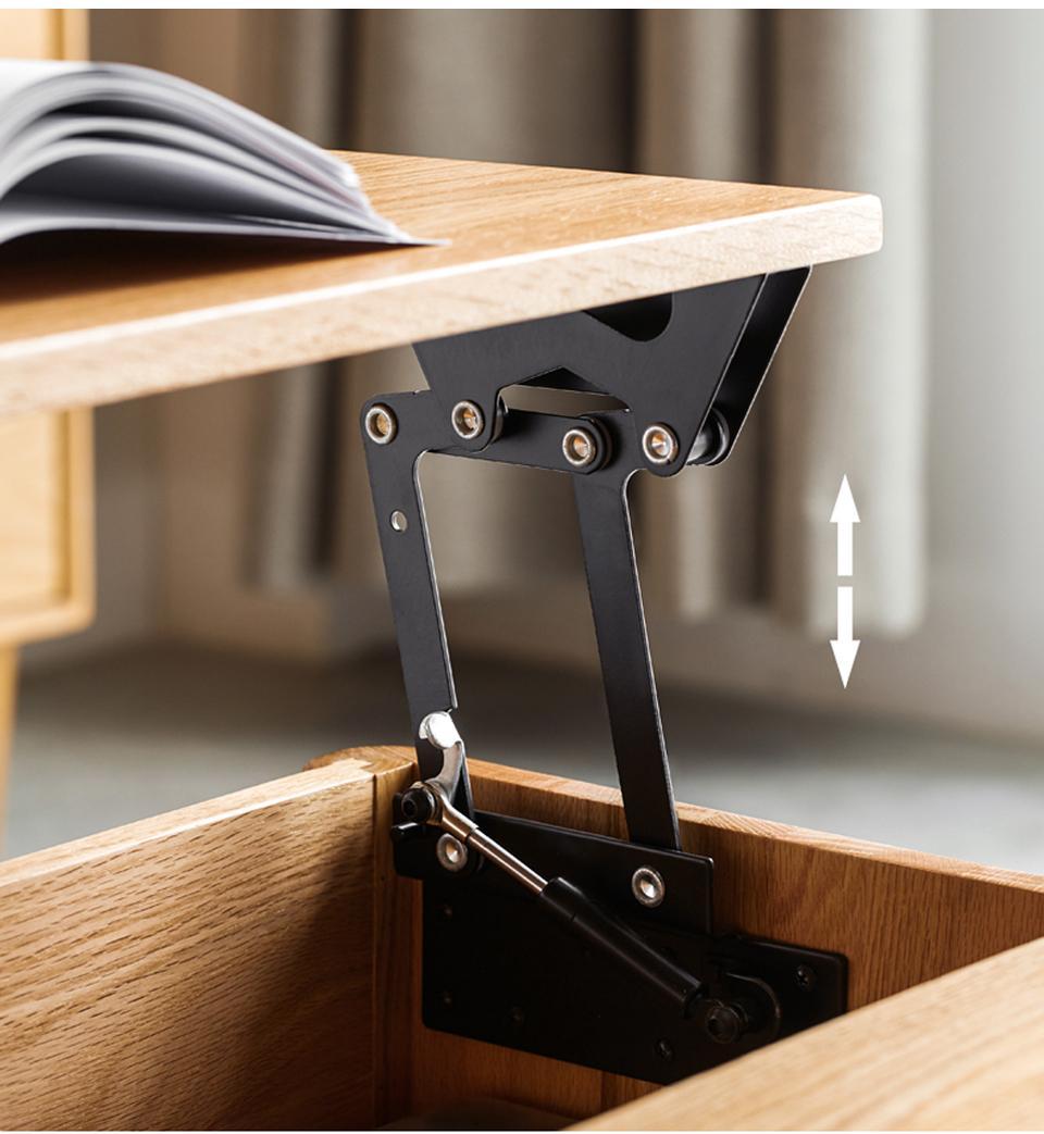 2 قطعة للطي الهيدروليكية طاولة شاي المفصلي الأثاث رفع آلية العلوي الأجهزة رفع الرف الرف ل القهوة طاولة حاسوب