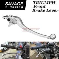 front brake lever for speed triple 800 xc xr xrx 1050 1200 daytona 600 650 955i scrambler tt 600 motorcycle accessories