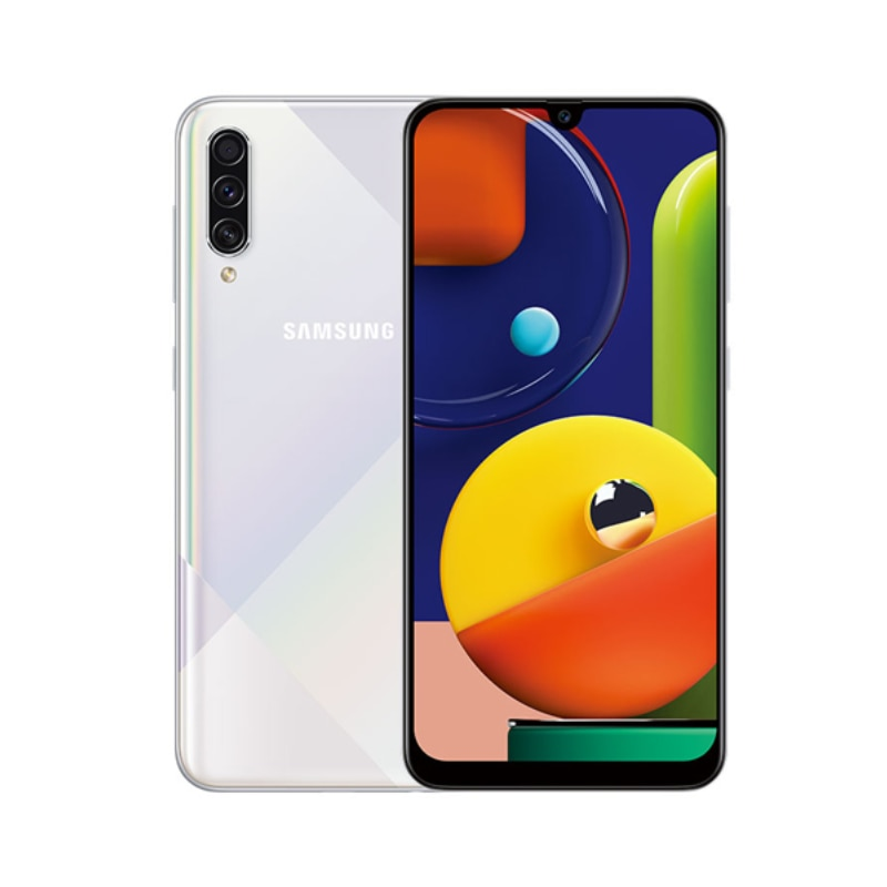 New Original Samsung Galaxy A50s 6.4'' Smartphone 6G RAM 128G ROM Triple Camera 48MP 4000mAh Battery 4G LTE Android Mobile Phone