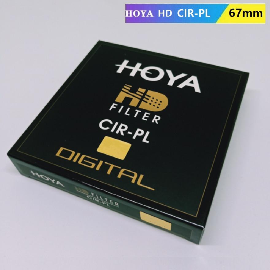 الأصلي هويا HD CPL CIR-PL 67 مللي متر تصفية التعميم الإستقطاب هويا HD CIRPL ضئيلة المستقطب لنيكون كانون سوني كاميرا عدسة