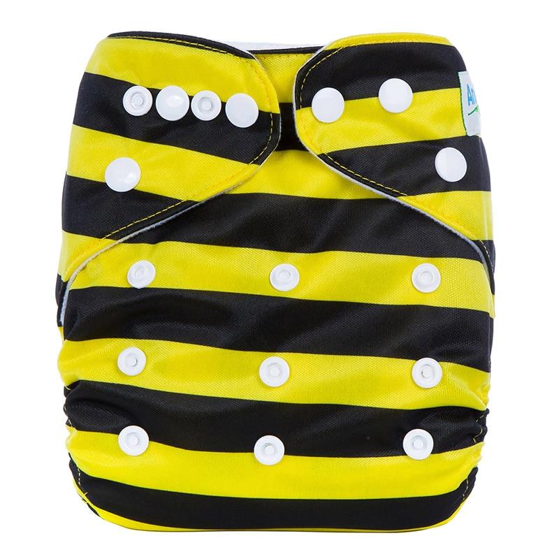 Reusable y lavable Happy Pants pañal de tela para bebé pañales ecológicos reutilizables coloridos para bebé J26