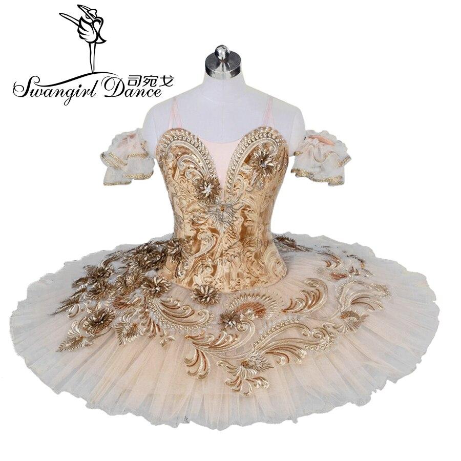 Adulto bege pêssego fada panqueca profissional ballet tutu mulher nutcracker panqueca tutus vestido para girlsbt9030